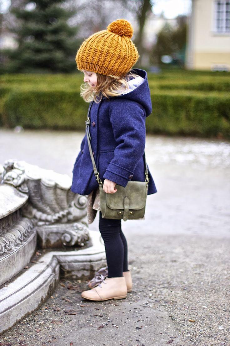 Navy blue & mustard   Vivi & Oli-Baby Fashion Life