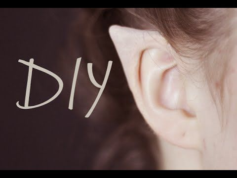 DIY Elf Ears + How to Apply | Klaire de Lys | Bloglovin'