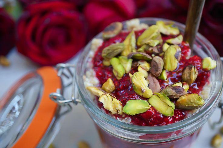 Raspberry Rose Chia Jam (Gluten Free, Paleo, Vegan, Refined Sugar Free) | Sprouted Routes