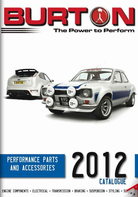 The Burton Power 2012 Catalogue With Images Performance Engines Engineering Performance Parts