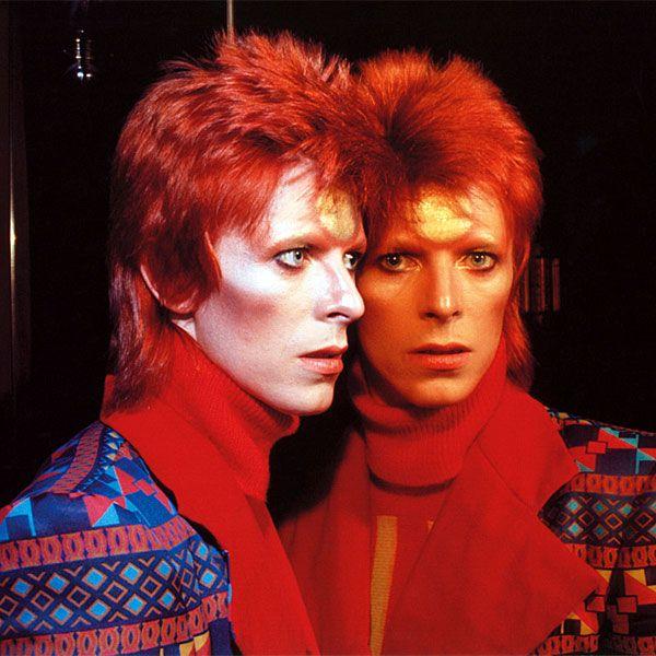 1973 Radio City Mirror - David Bowie Photos