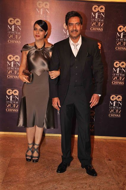 Bollywood, Tollywood & Más: Kajol & Ajay Devgan at GQ Men of the Year 2012