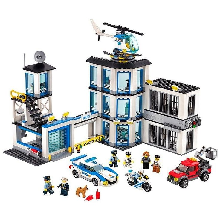 Lego City Police Station 60141 Review  New lego police station and what we thought of it