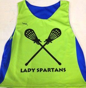 Custom Girls Lacrosse Pinnies - Girls Lacrosse Reversibles