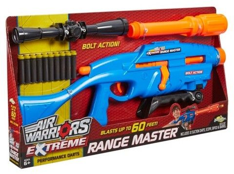Buzz Bee Toys Air Warriors Extreme Range Master Blaster