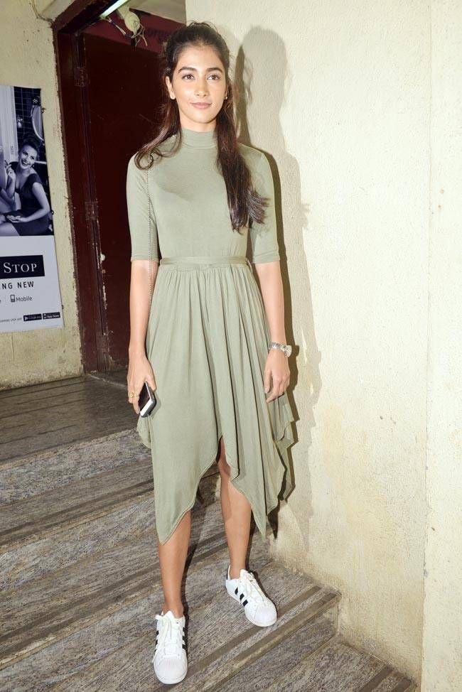 Pooja Hegde at Baar Baar Dekho screening. #Bollywood #Fashion #Style #Beauty #Hot #Sexy