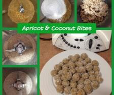 Apricot and Coconut Bites