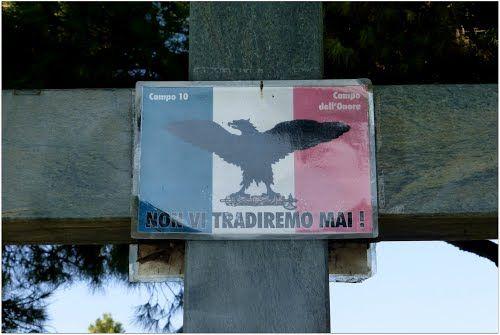 Cimitero Maggiore di Milano Campo X, Campo dell'Onore, caduti della Repubblica Sociale Italiana