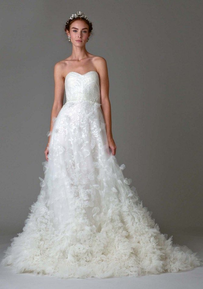 25 cute marchesa wedding dress ideas on pinterest marchesa marchesa wedding dresses fall 2016 junglespirit Image collections