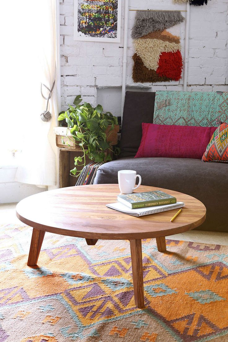 Assembly Home Round Modern Coffee Table - Urban Outfitters @bwesterbeke I think that this would look great in your living room.