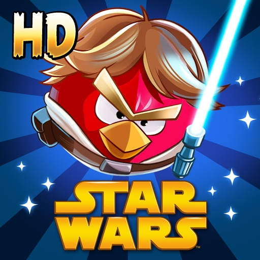 Angry Birds Star Wars Premium HD - JOIN THE ANGRY BIRDS IN THEIR BIGGEST ADVENTURE YET! A long time ago, in a galaxy far, far away...  ...a group of desperate rebel birds faced off against a galactic menace: the Empire's evil Pigtroopers! Rebel birds, striking from a hidden base, have won their first victory against the evil Imperial Pigs.