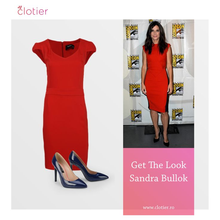 Get The Look. Sandra Bullock – Miza pe roșu ‹ Clotier  http://www.clotier.ro/blog/2014/08/06/get-the-look-sandra-bullock-miza-pe-rosu/?utm_source=Pinterest&utm_medium=Board&utm_campaign=Blog%20Clotier&utm_content=Get%20the%20look