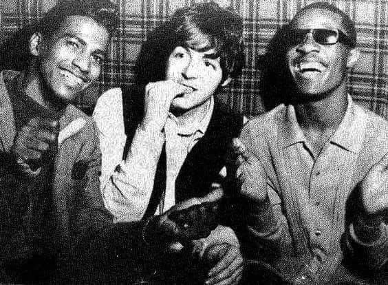 February 3, 1966: Performance of Stevie Wonder at the Scotch Of St James night-club, London. Paul attends. After the show, Paul and Stevie have a a long conversation.
