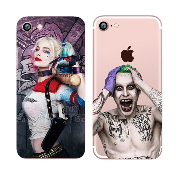 0.99$  Buy here - DC Comics Suicide Squad Margot Robbie Harley Quinn Soft TPU Clear For iPhone 4 4S 5 5s SE 5C 6 6s Plus 7 7 Plus Case   #buyonlinewebsite