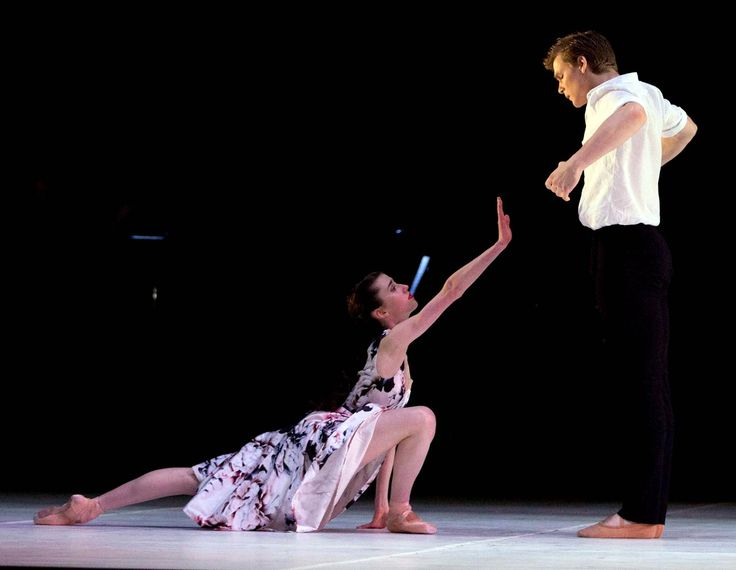 Serena Graham and Joseph Romancewicz in Almost. Photo by Sergey Konstantinov.