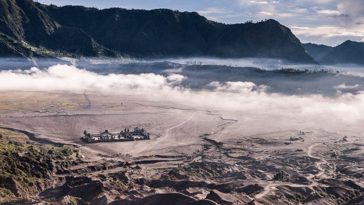 Temple near Mount Bromo