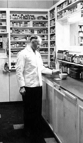 My First Drug Store Job. 1957. A Stock Boy. This Guy, Mr. Hale, taught me more than my first official preceptor.