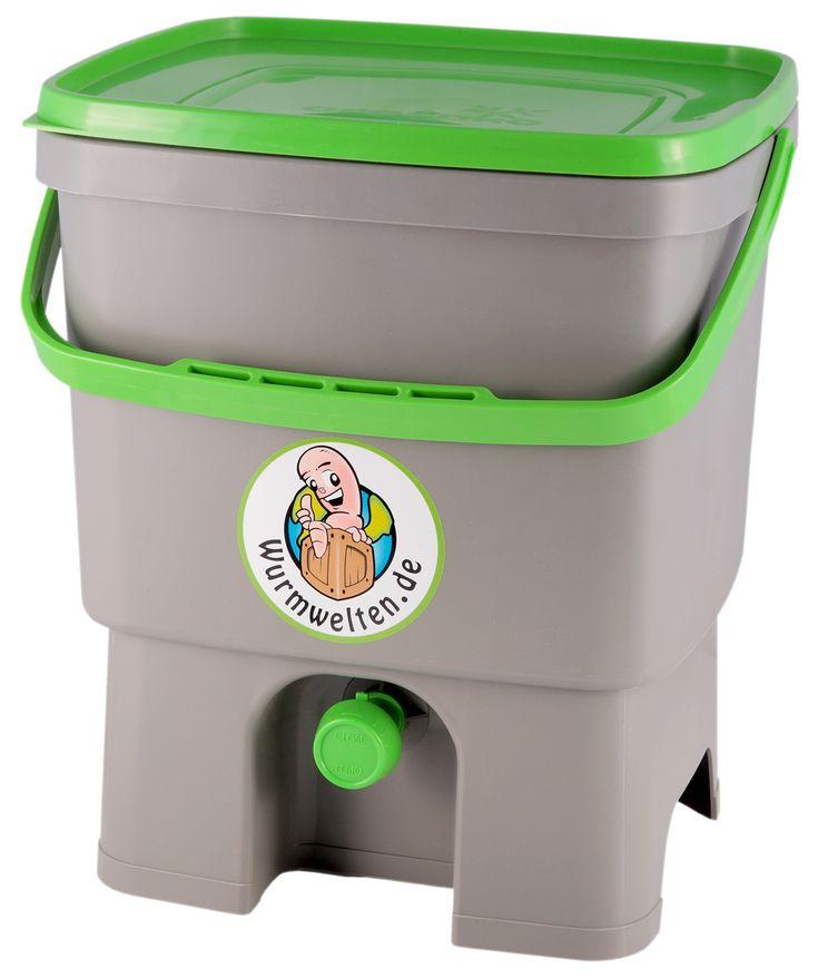 Ponad 25 najlepszych pomysłów na Pintereście na temat Bokashi - komposteimer für die küche