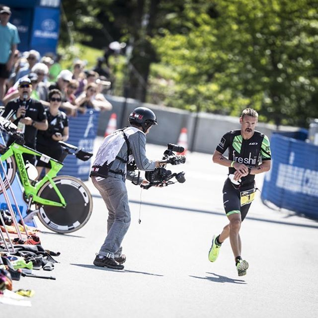 WORLD CHAMPION! Huge congrats to @lsanderstri for becoming @itumultisport long course World Champ. We cannot contain our excitement, wouldn't be more proud! #LiveYourDream #ITU #Penticton #penticton2017itumultisport #penticton2017 #worldchampion #lionelsanders #Garneau #GarneauShoes #garneaucycling #triathlon #triathlete #protriathlete