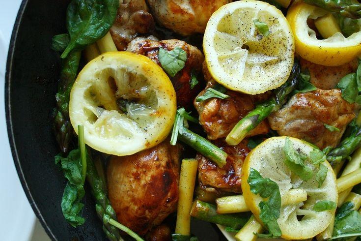 otwarcie sezonu szparagowego - pomysł na szybki i lekki obiad