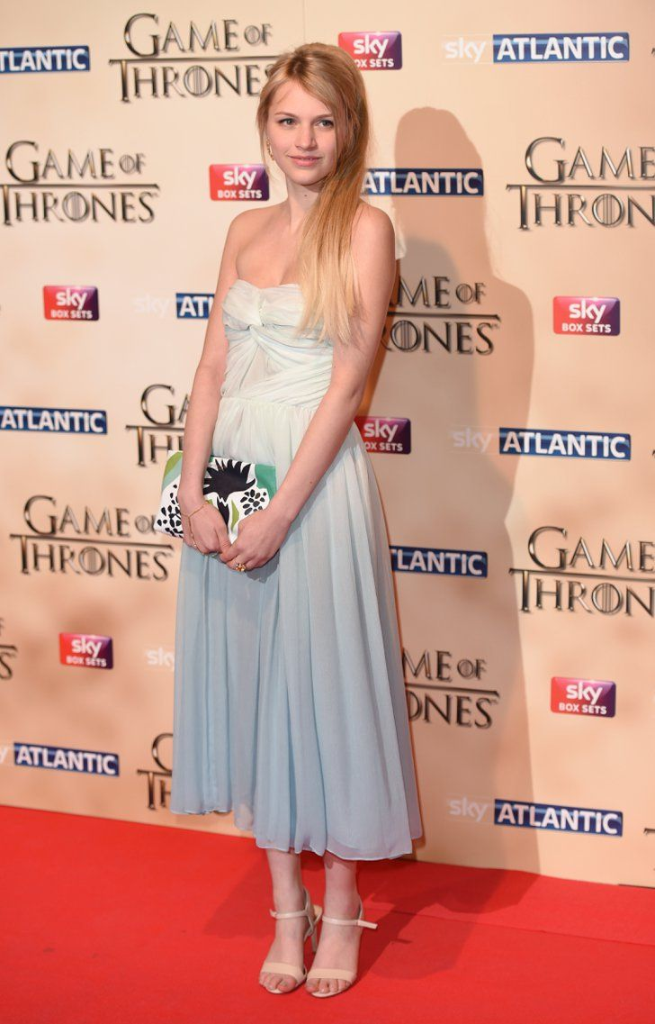 Pin for Later: The Style Was Dangerously Good at the Game of Thrones Premiere Nell Tiger Free