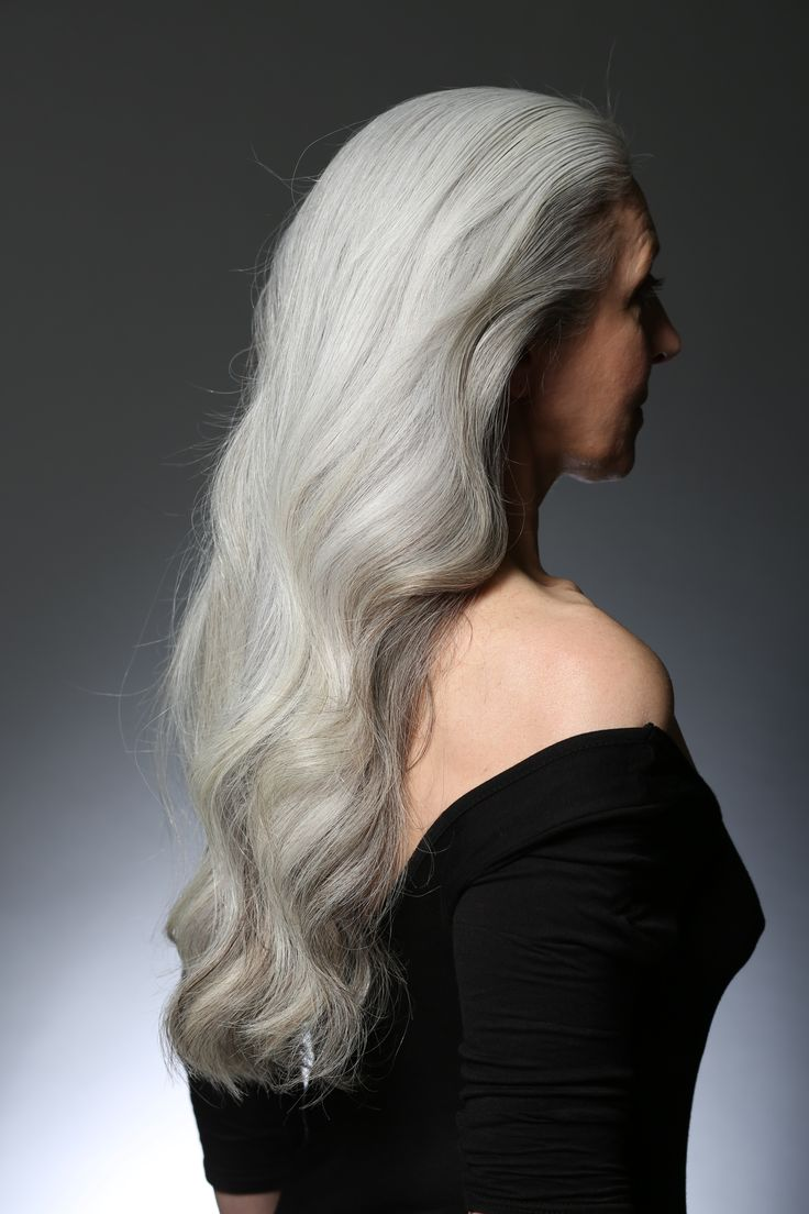 Alex for White Hot Hair Beauty isn't just for the young!
