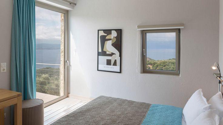 Double bedroom from The Atrium Villas