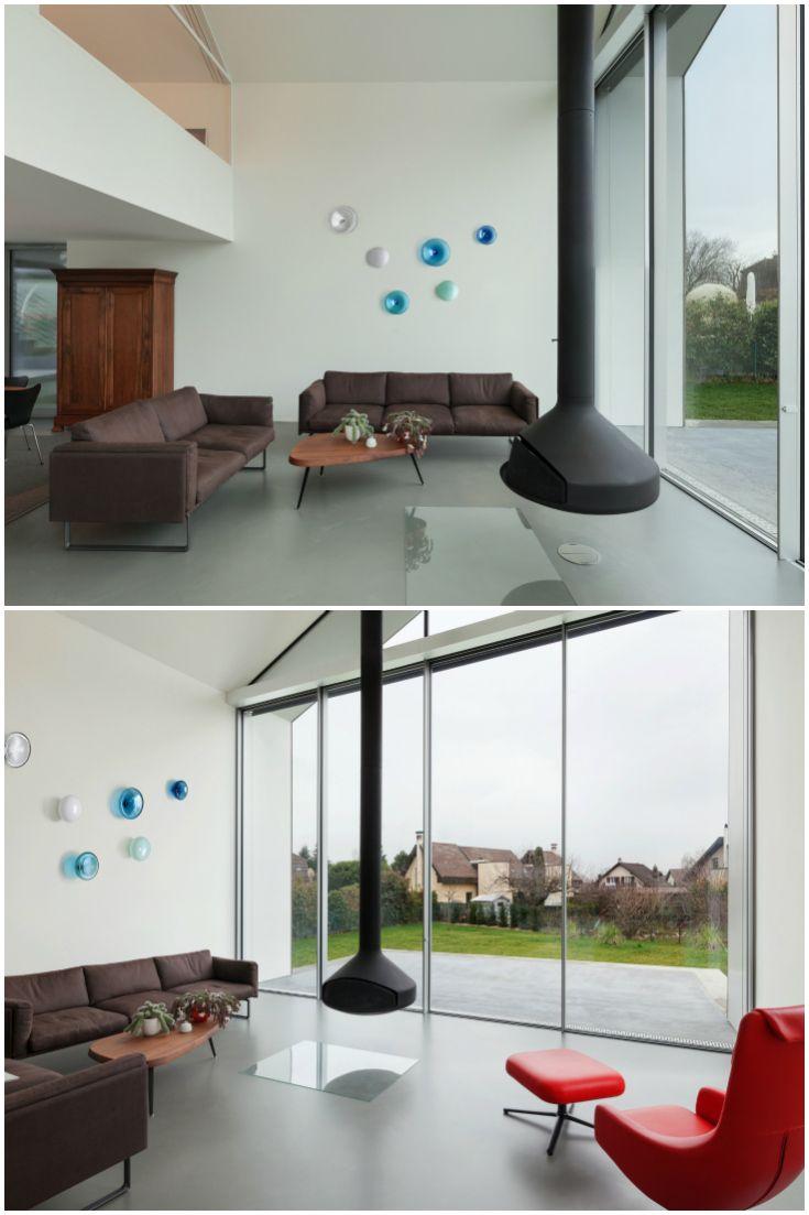 Hand Blown Glass Wall Art Installation By Alvitra Design