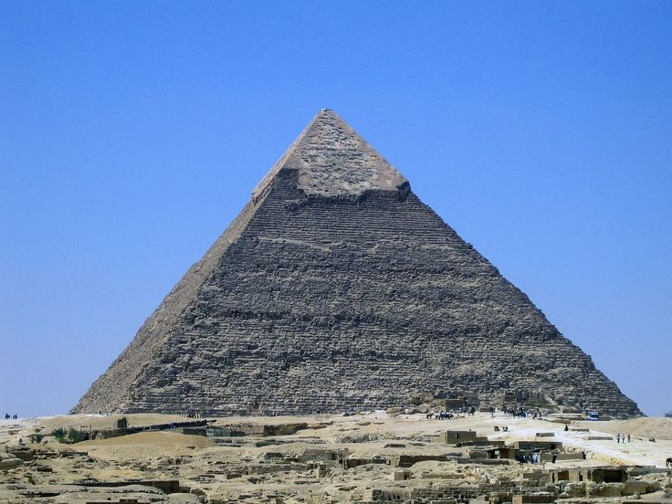 The Great Pyramid of Giza is the oldest of the seven wonders of …