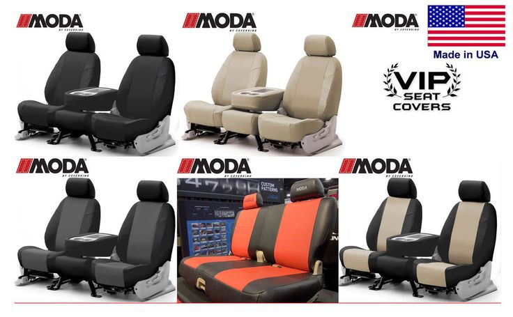 Coverking Synthetic Leather Custom Seat Covers Ford Fiesta #Coverking