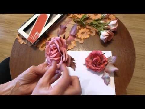 Почему лепестки цветов из фома теряют первоначальную форму - YouTube