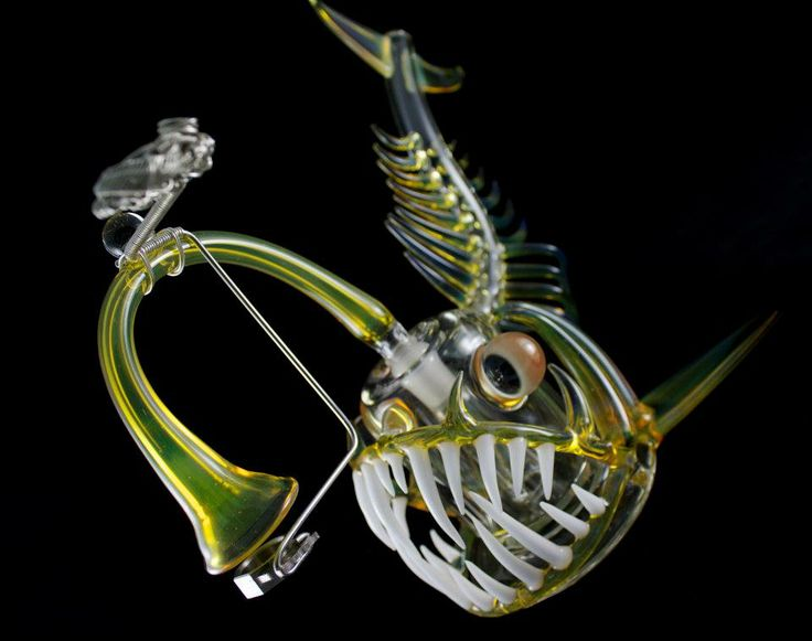 17 best images about glass on pinterest for Glass fish pipe