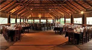 Indoor dining at Chisomo Safari Camp