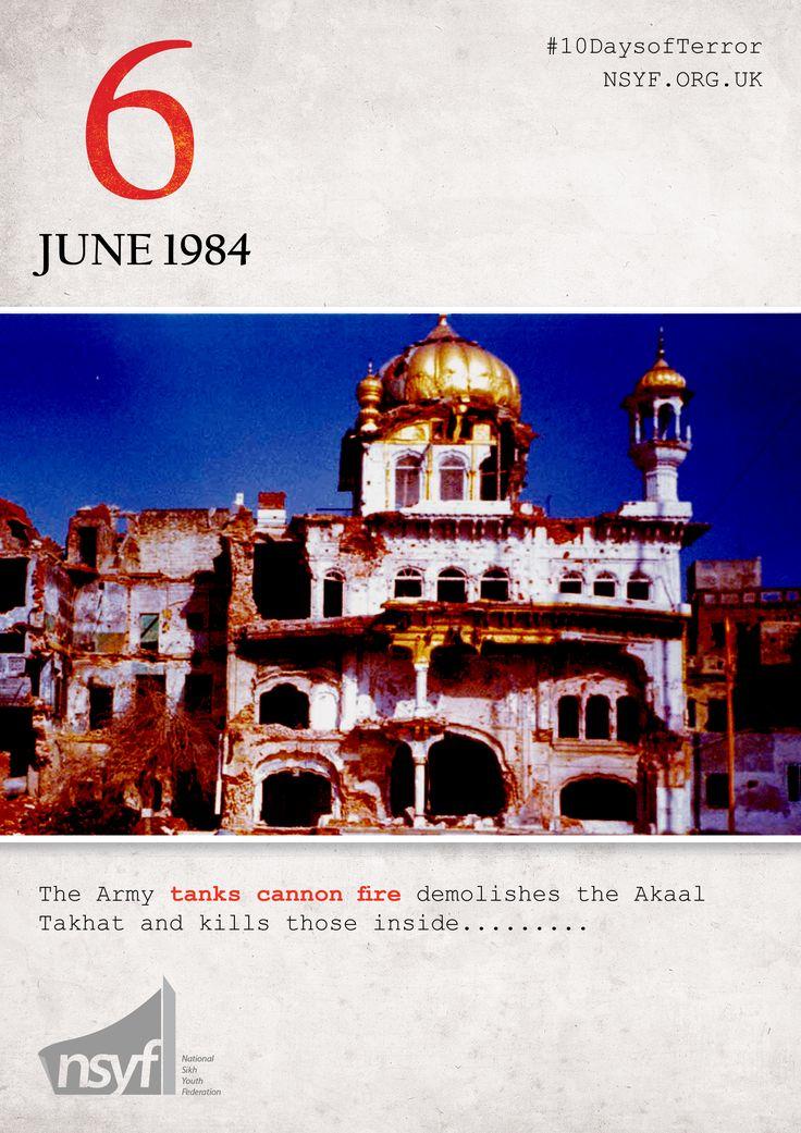 Operation Blue Star \u2013 6th June 1984 \u2013 A Black Day of Sikh History