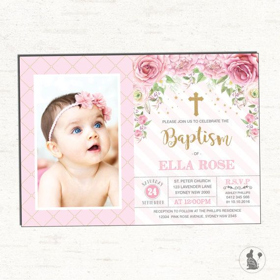 11 best Baptism Party images – Birthday and Baptism Invitations