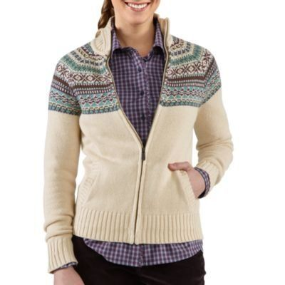 Carhartt 100042 Women's Folk Pattern Cardigan Sweater Carhartt. $79.99