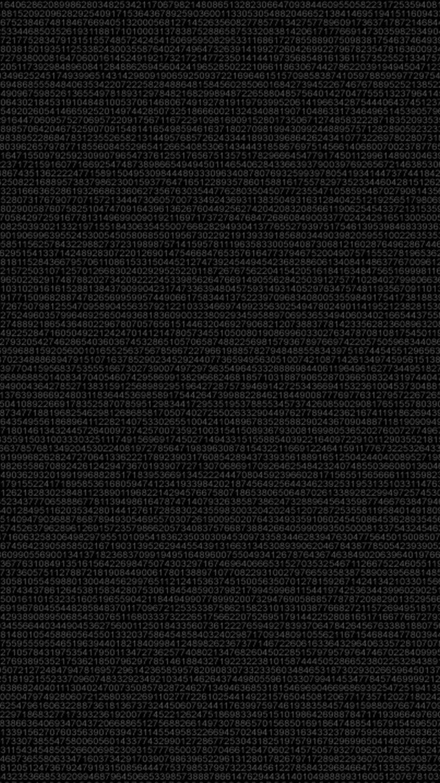 Digital Simple Dark Background iPhone 6 Wallpaper