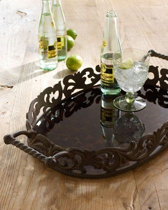 oval tray by gg collection at horchow - Gg Collection