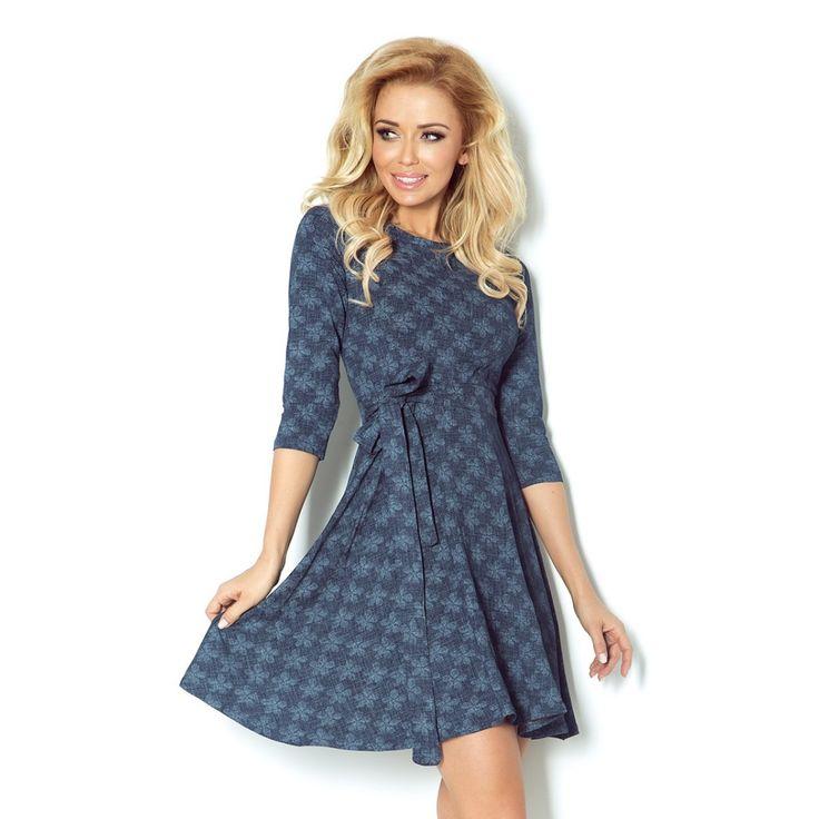 Evening dress model 48581 SAF