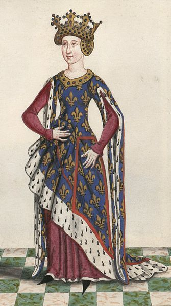 http://www.pinterest.com/pin/138837600987425582/ | Isabella of Valois (1313-1388)
