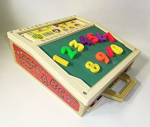 School anyone?  I HAD THIS!!!! It was one of my favorite things!!  Idk what happened to it :(