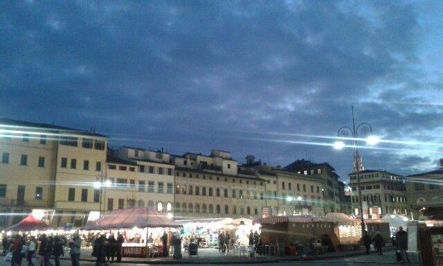 Piazza S. Croce - Firenze - dicembre '15