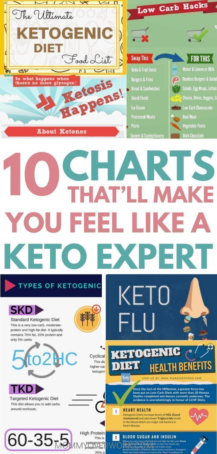 Quick Keto Diet For Beginners Guide Infographics Amp Charts