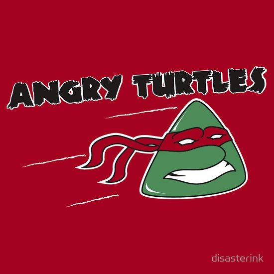 Angry Turtles :) by My Husband.