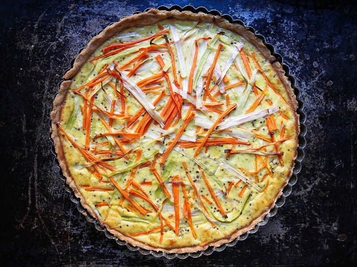 When served alongside a light salad, this savory tart, adapted from cookbook author Dorie Greenspan, is the perfect meal, any time of day.