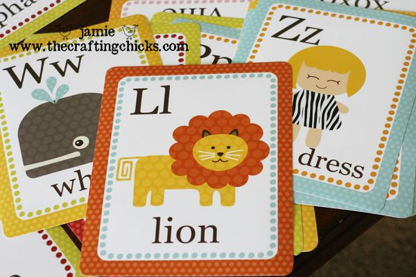 ABC Cards - free download  -  These are absolutely FANTASTIC..Love these!