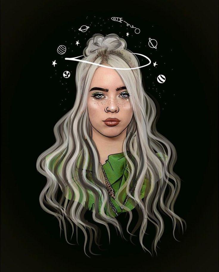 Fan Art Billie Eilish Wallpaper Tumblr