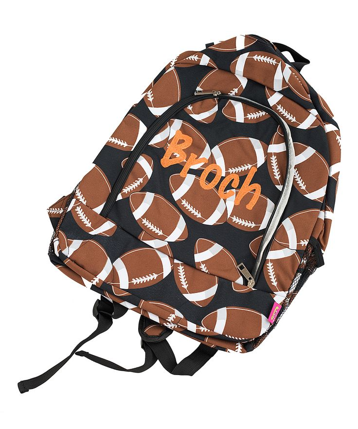 Football Personalized Backpack
