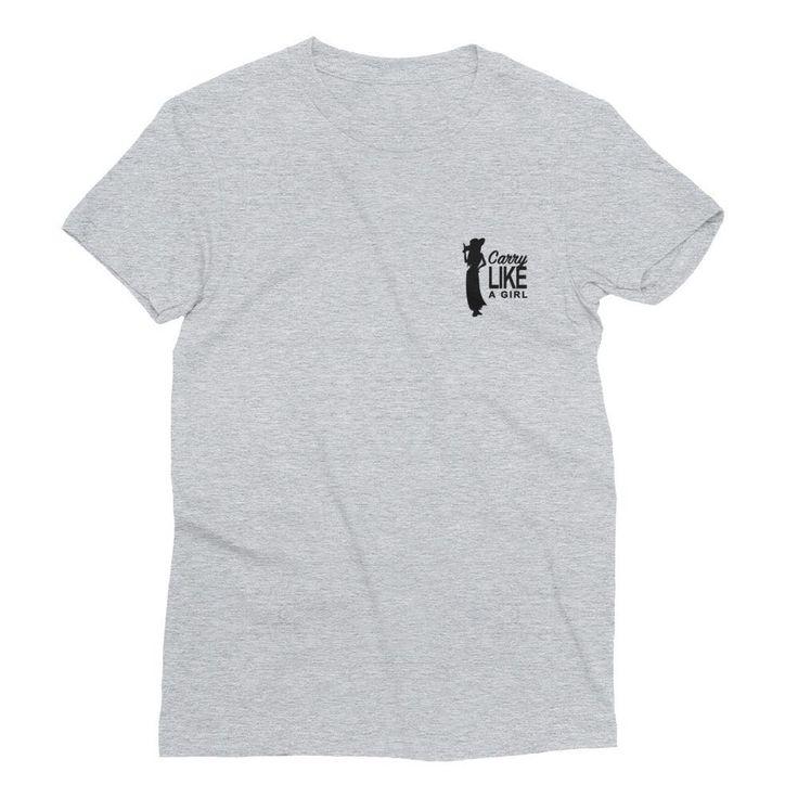Carry Like A Girl Fine Jersey Women's Short Sleeve T-Shirt