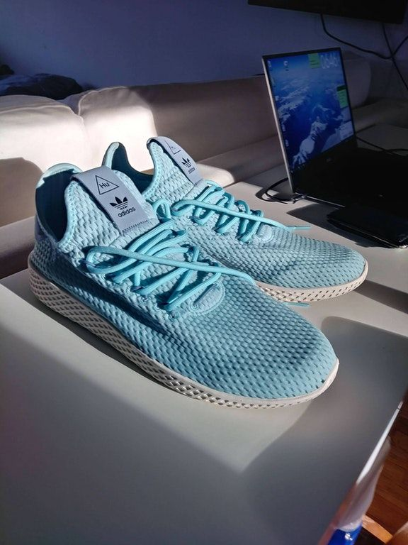 adidas Pharrell Williams Tennis HU (Kids) Blue